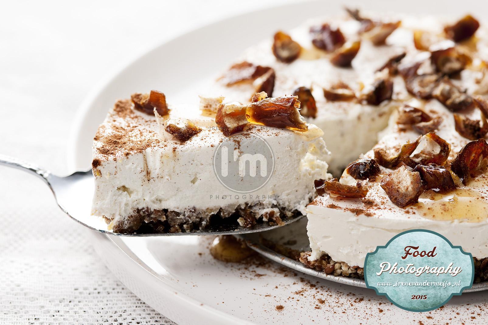 Foodfotografie van recepten voor gebak, taart, cake, koekjes, bonbons en ijs